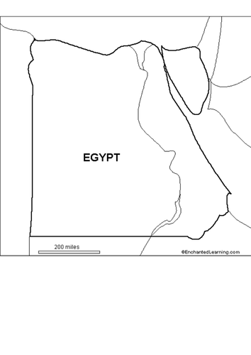 Egypt Map Lesson By Slbrown Teaching Resources Tes - Egypt map