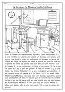 Le bureau de Mademoiselle Michaux
