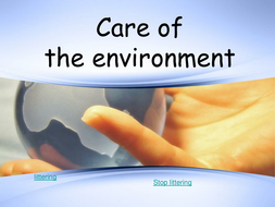 Care of the Environment