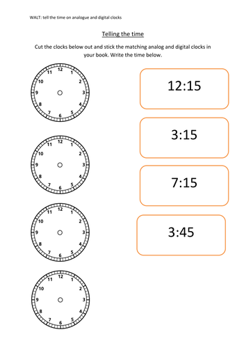Free Worksheets time worksheets to the nearest half hour : Time by amy_louise1989 - Teaching Resources - TES