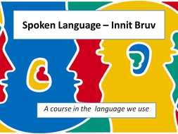 Spoken Language SOW for KS3