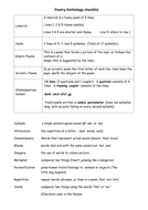 Wk 3 Ln 10 Poetry anthology checklist.docx