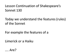 Wk 3 Ln 8 Sonnet 130 form and layout.pptx