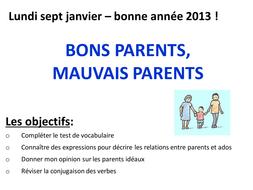 Bons parents mauvais parents