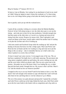 Blog for Sunday 13th January 2013.docx