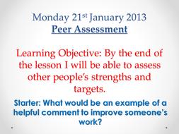 Week 3 Peer and Self Assessment.pptx