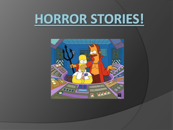 Horror Writing Open Lines by missedutton - Teaching