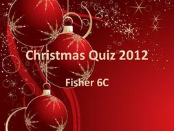 Christmas Quiz 2012