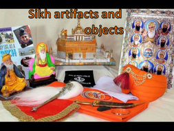 Sikh artifacts and objects