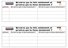 ACTIVITE DE CLASSE - ENVIRONNEMENT