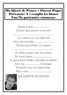 MA LIBERTE DE PENSER - FLORENT PAGNY