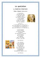 LE QUOTIDIEN - SANDRINE KIBERLAIN