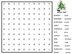 French wordsearch.pptx