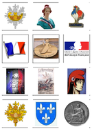 CARTES - SYMBOLES DE LA FRANCE