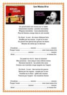LES MAINS D'OR - BERNARD LAVILLIERS - TEXTE A TROUS.docx