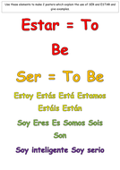 Ser and Estar Poster Elements.docx