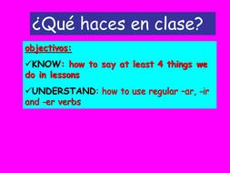 Que haces en clase_1.ppt