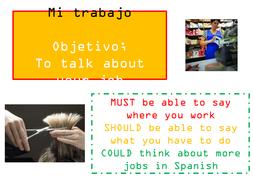 GCSE Spanish - My work