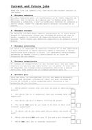 Buscando Trabajo Worksheet.doc