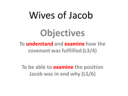 Wives of Jacob