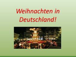 All about Christmas in Germany