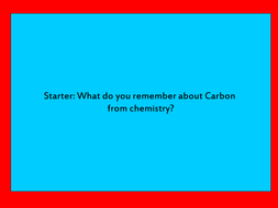 Carbon Cycle Revision