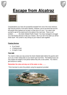 Problem Solving Escape from Alcatraz.docx