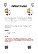 Problem Solving - Sheep Herding.docx