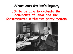 Attlee's Government
