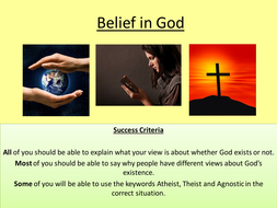 Belief in God- SEN