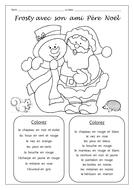 Frosty avec son ami Père Noël
