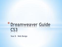 Dreamweaver CS3 guides