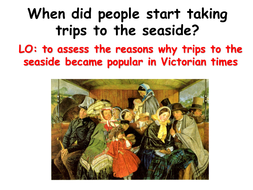 How did the railways change how people went on hol