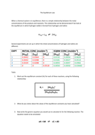 The Equilibrium Law worksheet 1.docx