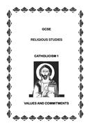 Coursebook 6 Values and Commitments within Catholic Christia.doc