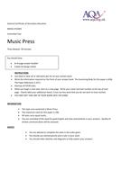 Music Press mock exam.doc