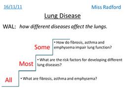 4.5 Lung Disease AQA AS Biology