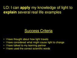 Light assessment