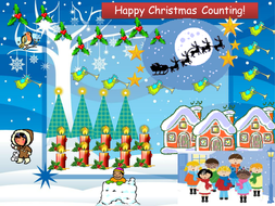 Happy Christmas Counting!