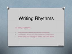 Lesson Powerpoint - Rhythm Notation.pptx