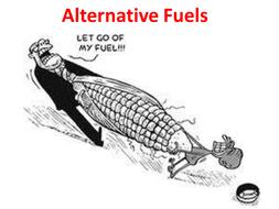 AQA C1.4.5 Alternative Fuels