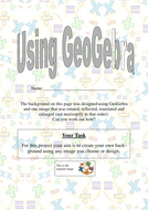Geogebra Transformations tutorial student booklet