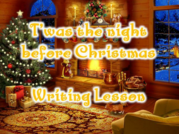 T'was the Night Before Christmas poetry writing