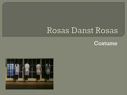 Rosas Danst Rosas - Costume