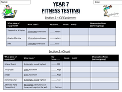 Year 7 Fitness Testing Results Sheet.pptx