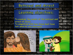 Christianity Betrayal and arrest.