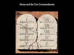 Judaism - The 10 commandments KS3