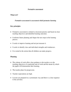 Formative or Summative Assessment