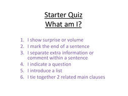Apply punctuation to a letter (2)