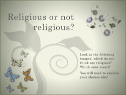 Religious or not religious LESSON ONE.pptx